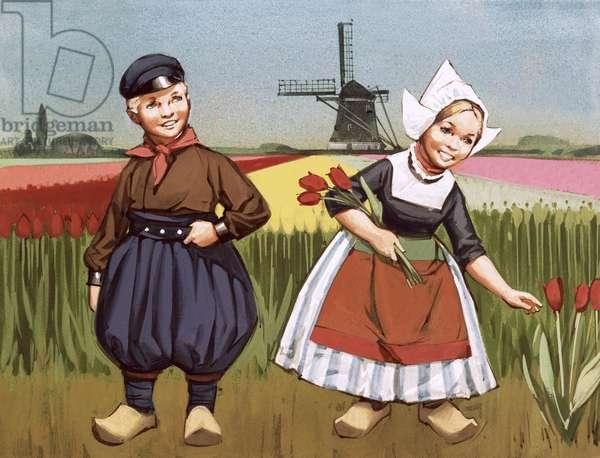 Children from Holland