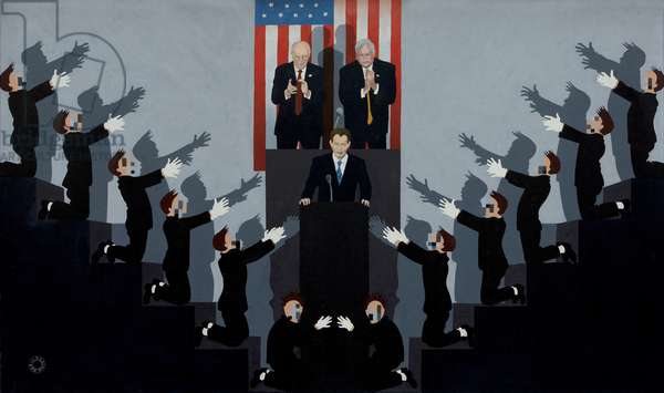 The Great War Leader (Homage to Jean-Paul Goude), 2005 (digital print)