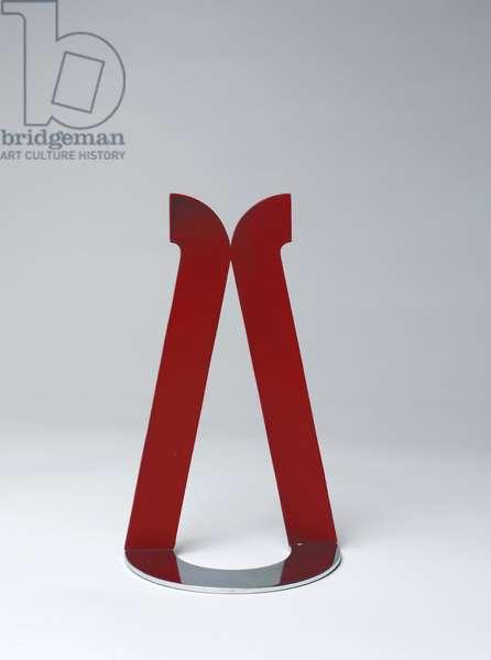 Little Red Loop, 1965 (aluminium, lacquer, chrome & brass)