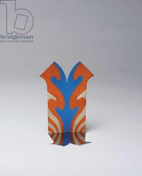 Small Standing Double, 1965 (plastic, gouache & chrome)