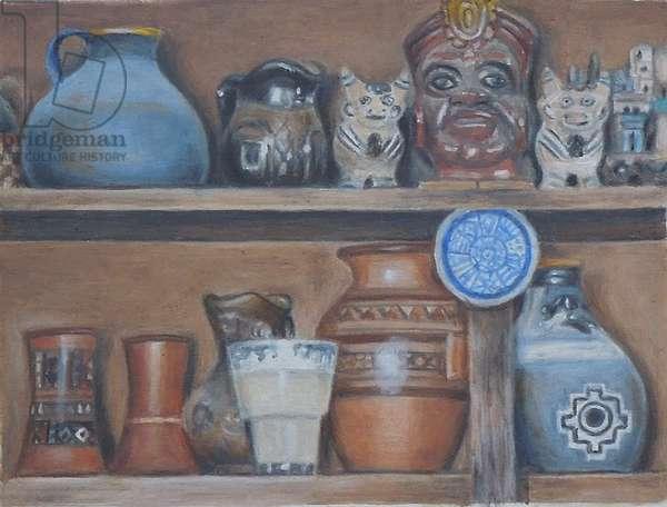 Sacred Valley, Peru, 2013 (oil on masonite)