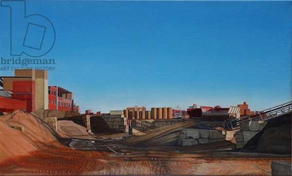 Before Sunset, 2012 (oil on linen)