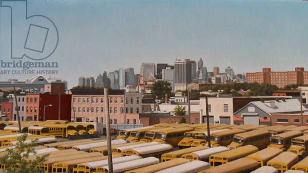 View from Red Hook, 2009 (oil on linen)