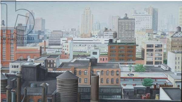 Summer Haze, 2004 (oil on canvas)