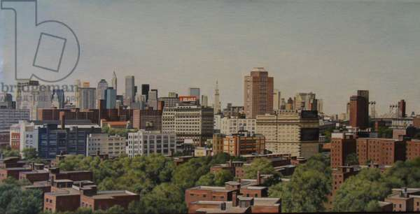 View from State St, 2007 (oil on linen)
