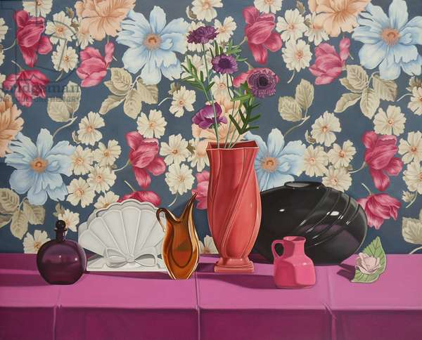 Still Life with an Amber Vase, 1998 (oil on canvas)