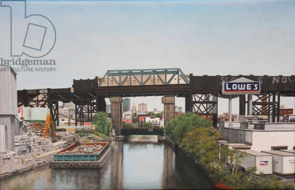 Barge on the Gowanus, 2010 (oil on canvas)