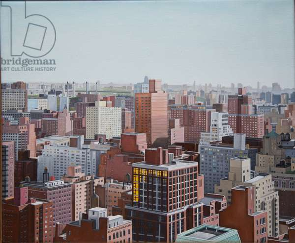 View from the 29th Floor, 2013 (oil on linen)