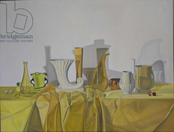 Composition in Yellow, 2011 (oil on linen)
