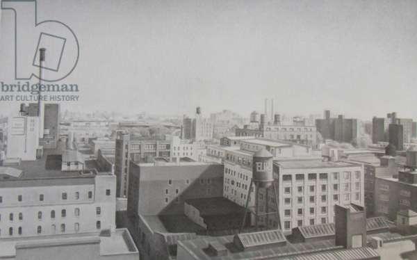 Dumbo Factories (graphite on paper)