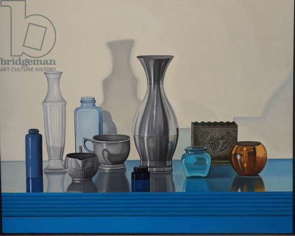 Metal and Glass, 2000 (oil on linen)