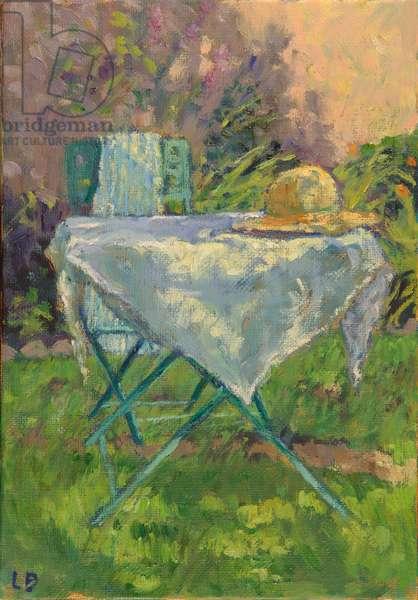La Nappe Dentelle, 2014 (oil on canvas)