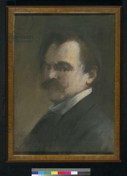 Self-portrait, 1898 (pastel on paper)