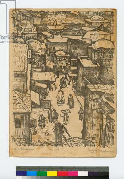 Jerusalem, 1926 (litho)