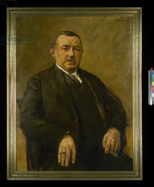Portrait of Max Boehm, 1925 (oil on canvas)