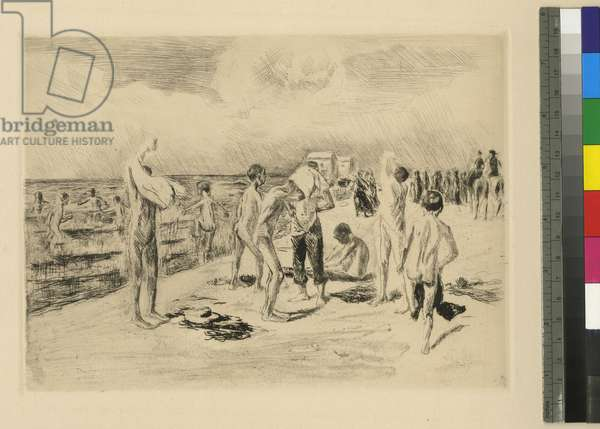 Bathing Boys, c.1906 (engraving)