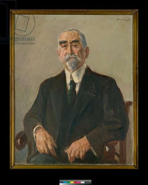 Portrait of Leonhard Tietz, 1903 (oil on canvas)