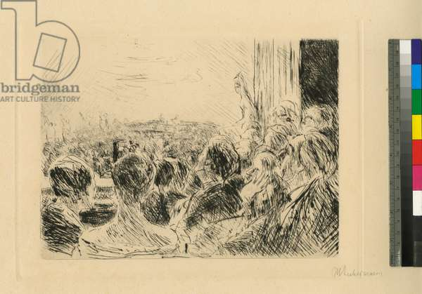 The Concert, 1922 (etching)