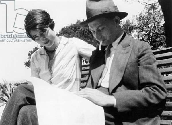 Joseph Roth and Friederike Roth