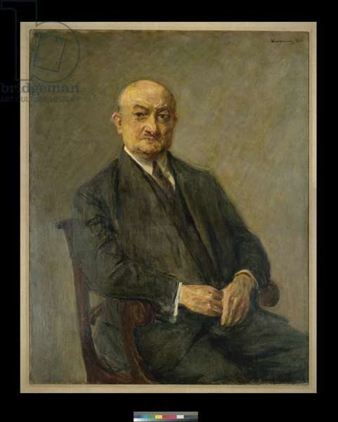 Portrait of Heinrich Stahl, 1925 (oil on canvas)