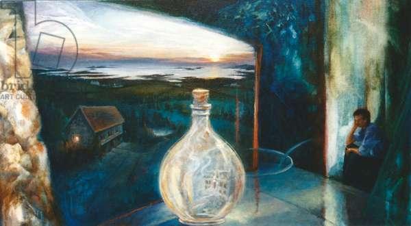 Guernsey Dream I, 1999 (oil on canvas)