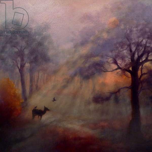 Richmond Mist; 2020, (oil on canvas)