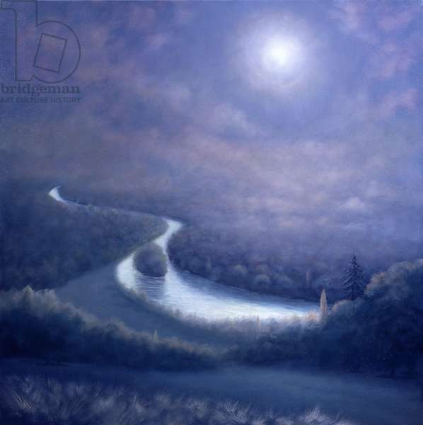 Nocturne, 2005 (oil on canvas)