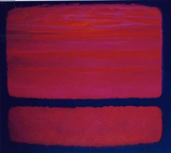 Magenta, 2001 (oil on canvas)