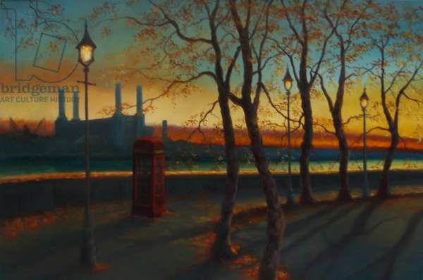 Embankment, 2011 (oil on canvas)