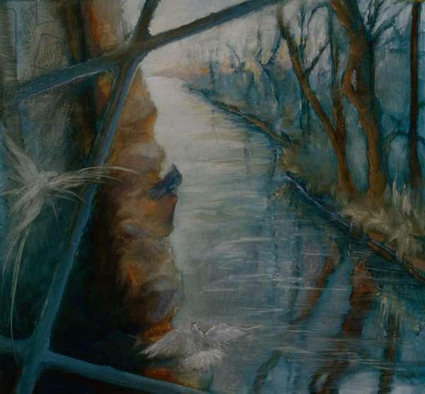 Presence, 1997 (oil on panel)