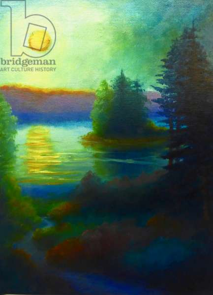 Winter Light, 2019, (oil on canvas)