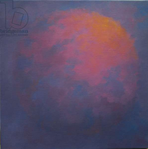 Universal I, 2003 (oil on canvas) Orb abstract