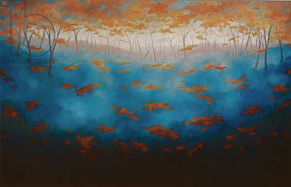 Equinox, 2005 (oil on canvas)