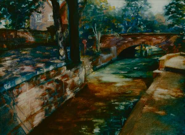 Summer Shadows 2001 (oil on paper)