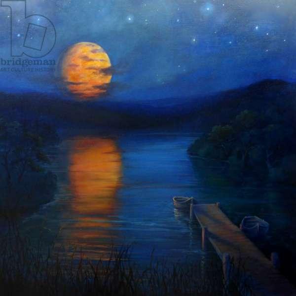 Night Music, 2018, (oil on canvas)