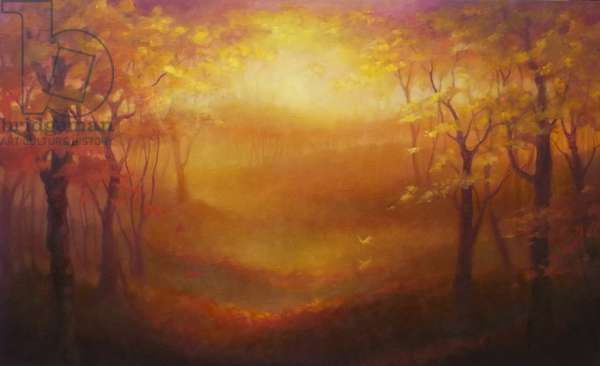Autumnal Light 2013 (oil on canvas)