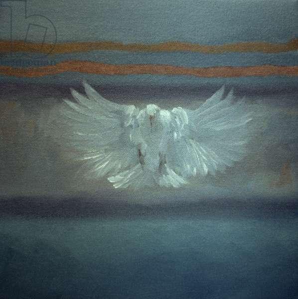 Whisper, 2001 (oil on canvas)