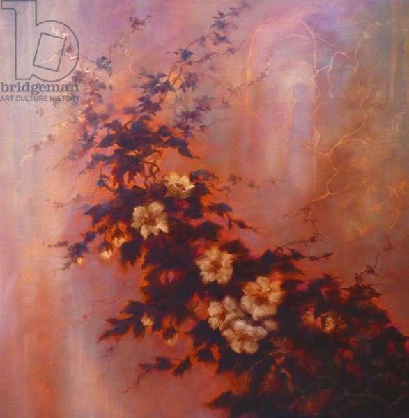 Esprit des Fleurs, 2020, (oil on canvas)