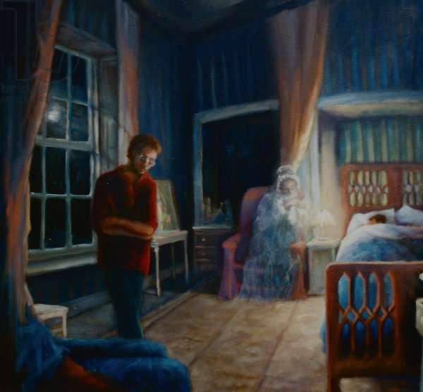Sausmarez Ghostly Nanny, 2000 (oil on panel)
