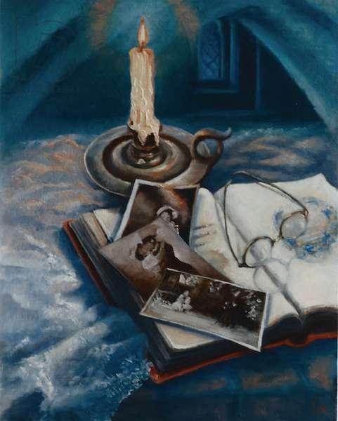 Nostalgia, 1999 (oil on panel)