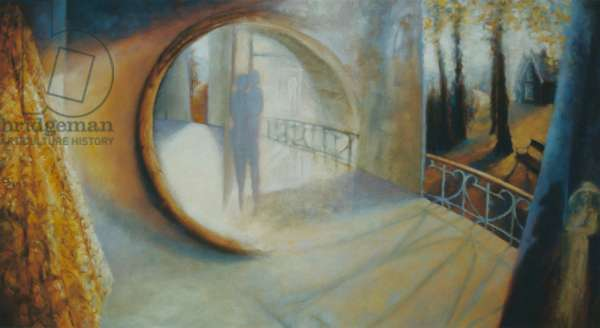 The Secret, 1999 (oil on canvas)