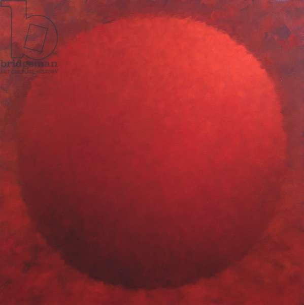 Red Orb, 2006 (oil on canvas)