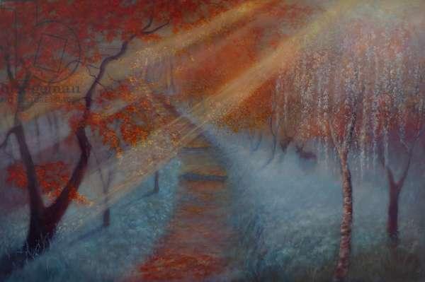 Autumn Almanac, 2018, (oil on canvas)