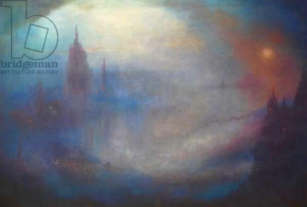 Citè des Fantômes, 2020, (oil on canvas)