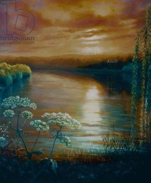 Eel Pie Dawn, 2009 (oil on canvas)