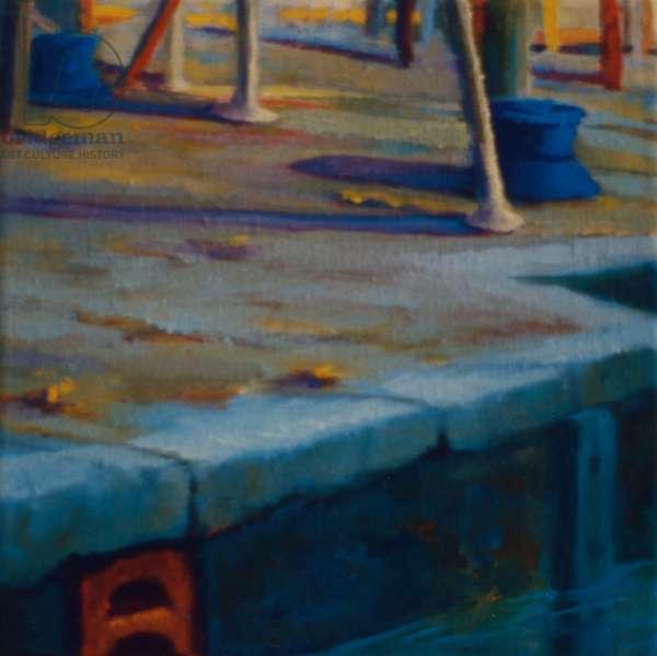 Dockside, Pimlico, 2000 (oil on panel)