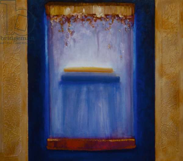 Sepulchral, 2000 (oil on panel)