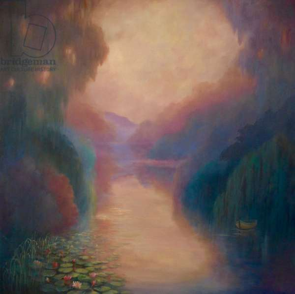 Tribute to Monet, 2020, (oil on canvas)
