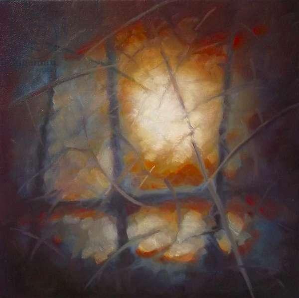 Awakening, 2012 (oil on canvas) Abstract