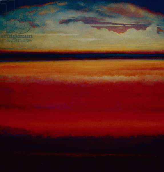 Horizon, 2005 (oil on canvas)